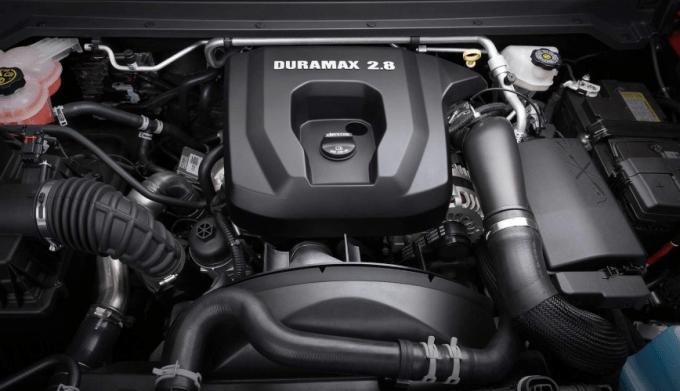 2019 Chevrolet Colorado Engine