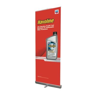 Havoline Banner Stand