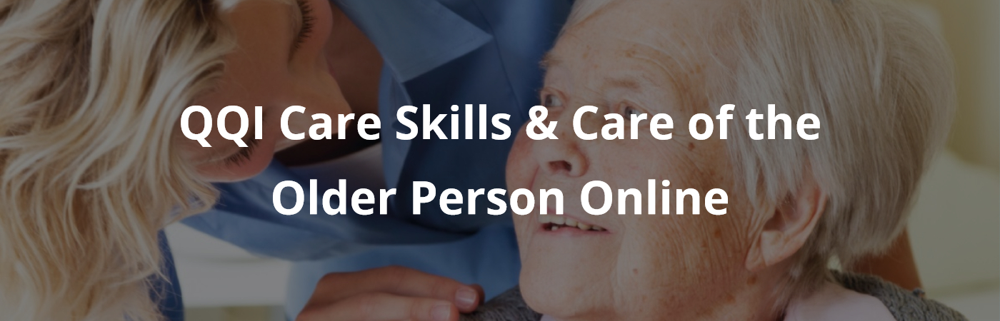 care skills care of older person