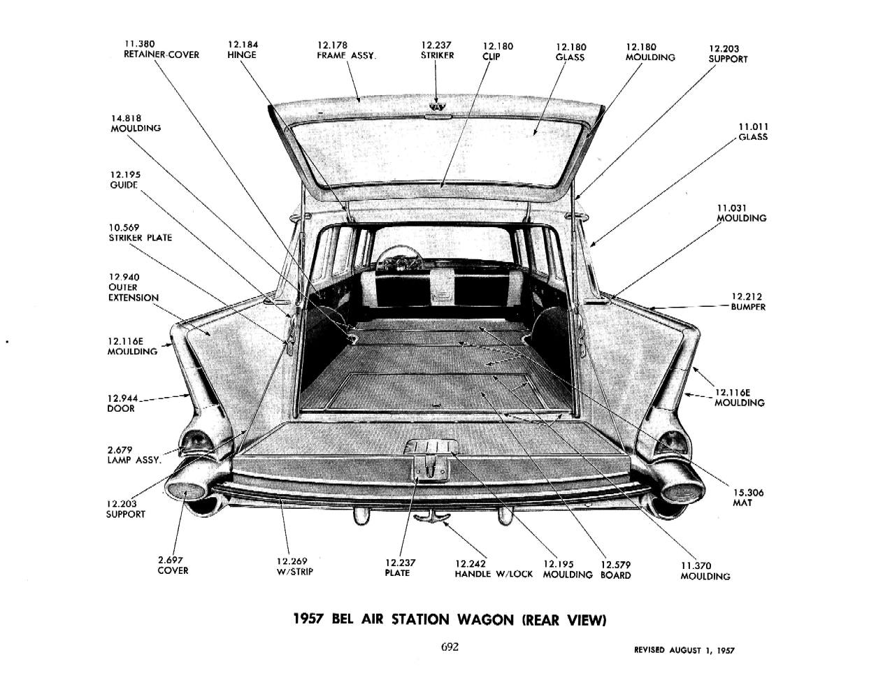 Chevy Parts Manual