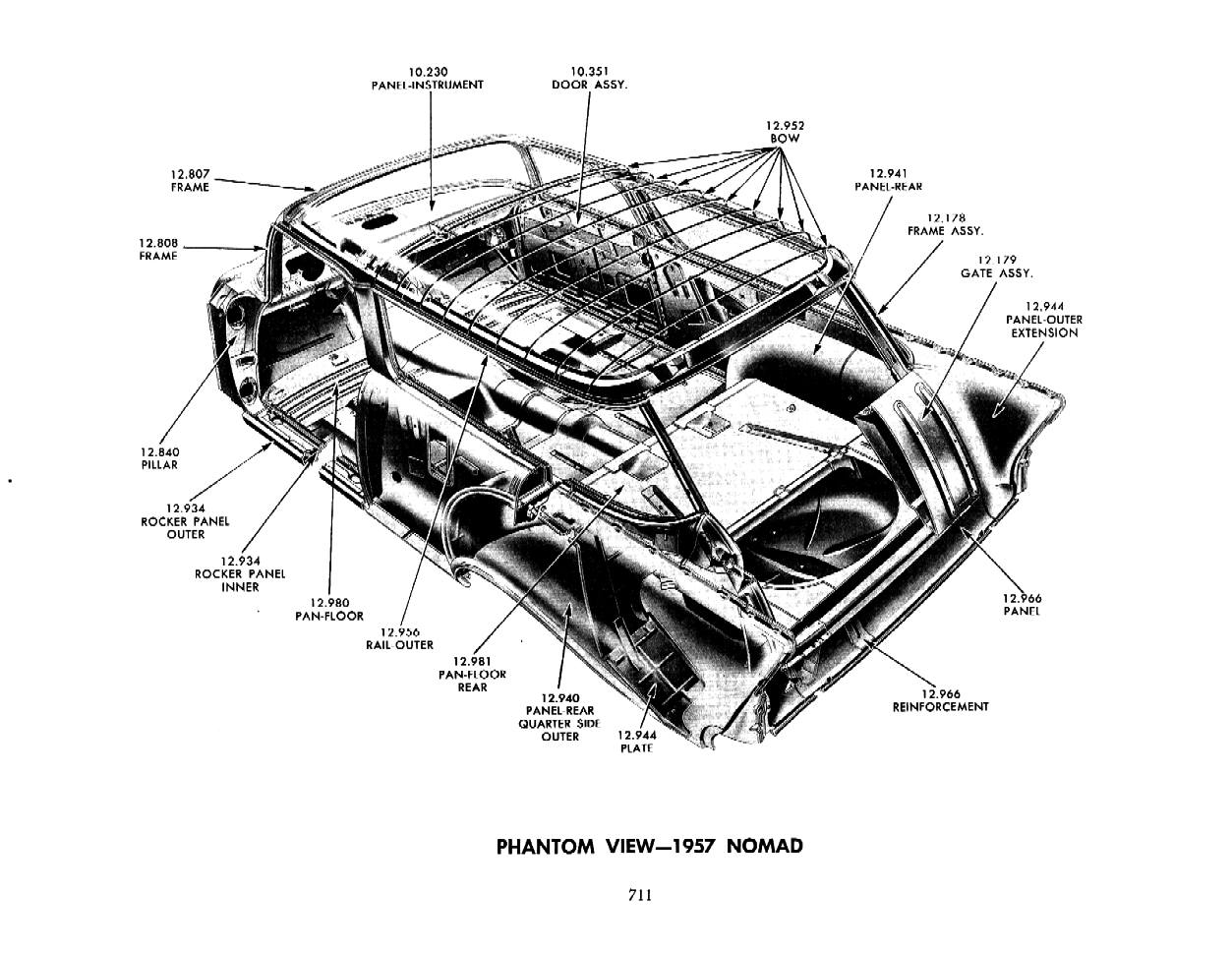57 Chevy Cars Needing Engine