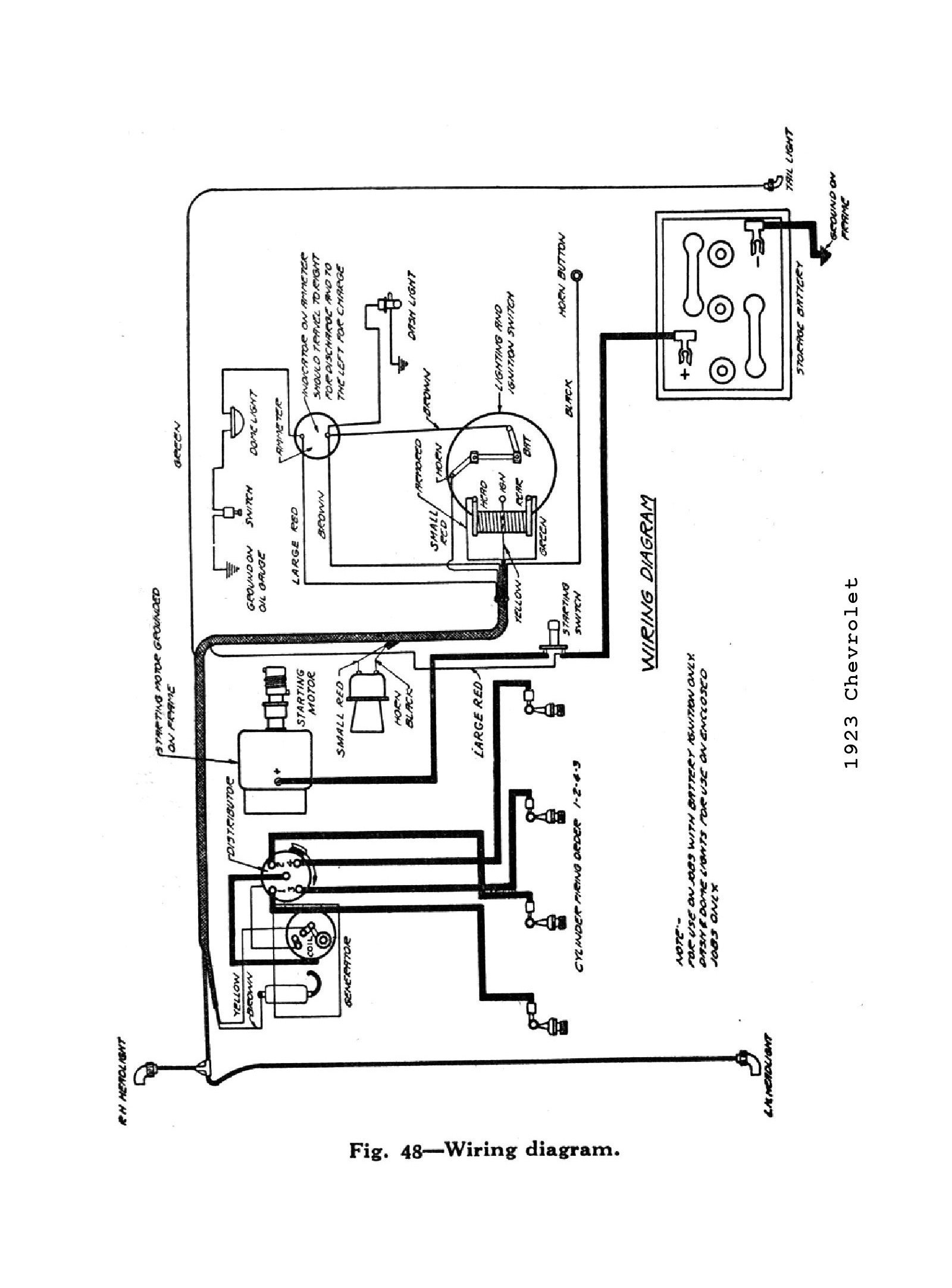 Gmc General Wiring Diagram