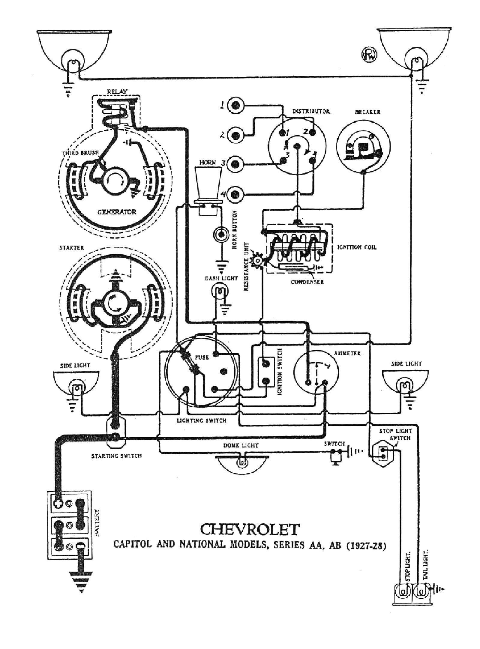 Chevy Pickup Wiring Diagram For