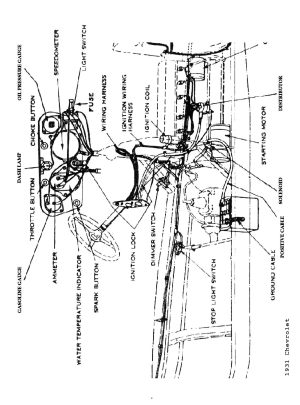 1929 Model A Pick Up Wiring Diagram | Wiring Library