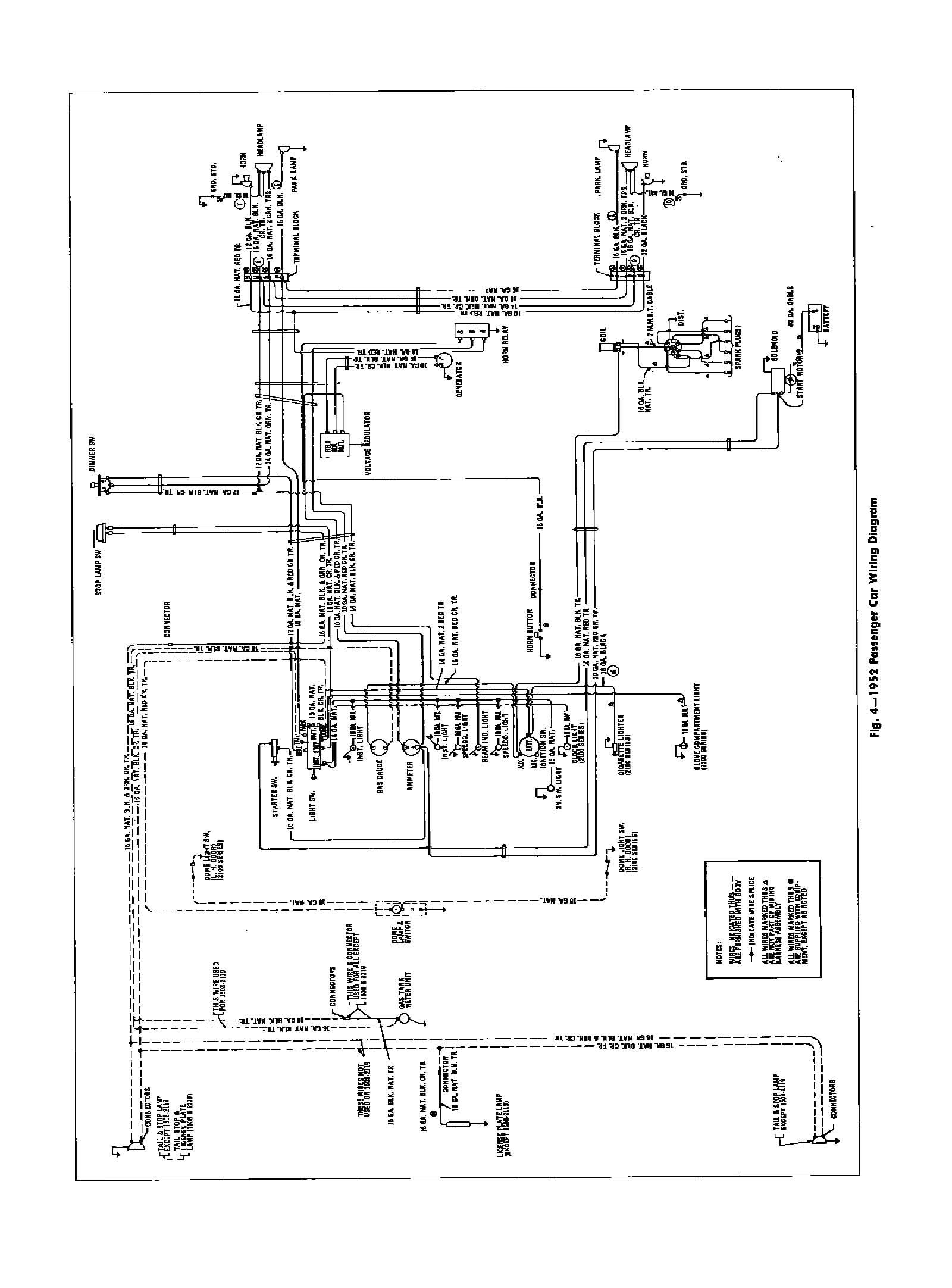 52 Olds Turn Signal Schematic