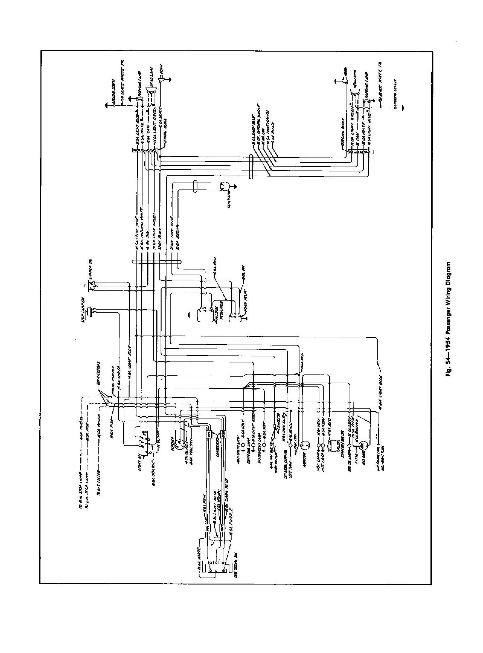1954 chevy wiring diagram 12v wiring diagram chevy wiring diagrams