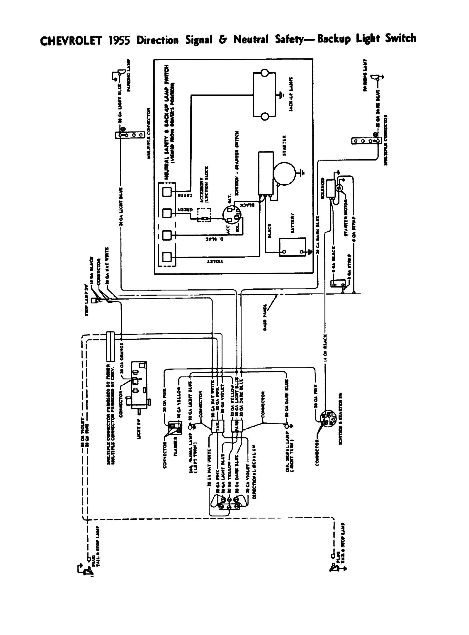 55 willys jeep wiring diagram 1955 chevy turn signal switch wiring diagram wiring diagrams  1955 chevy turn signal switch wiring