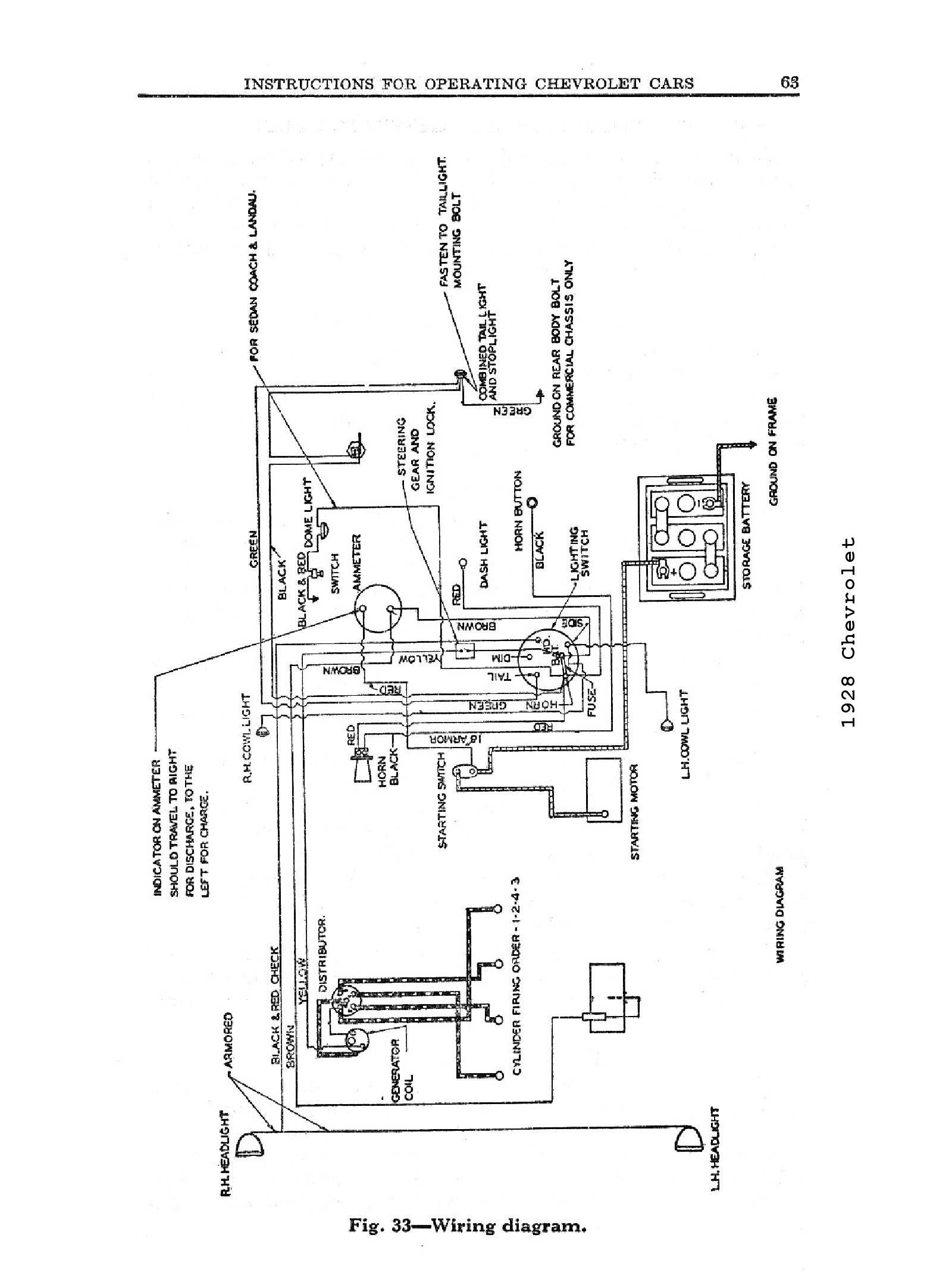 1946 Chevy Truck Wiring Diagram