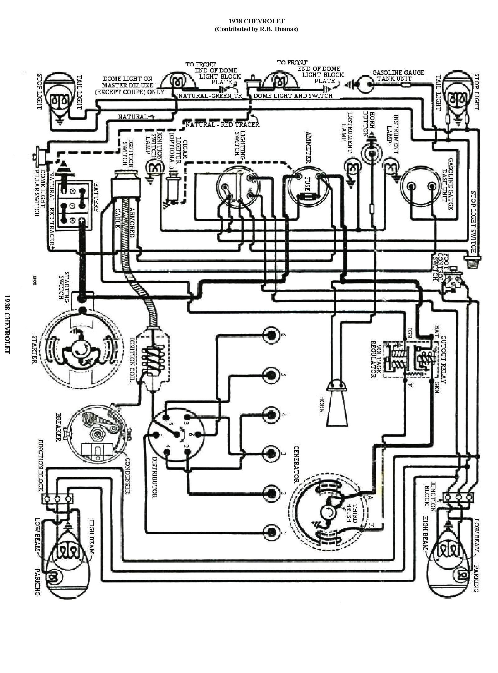 Ford Model A Wiring Diagram