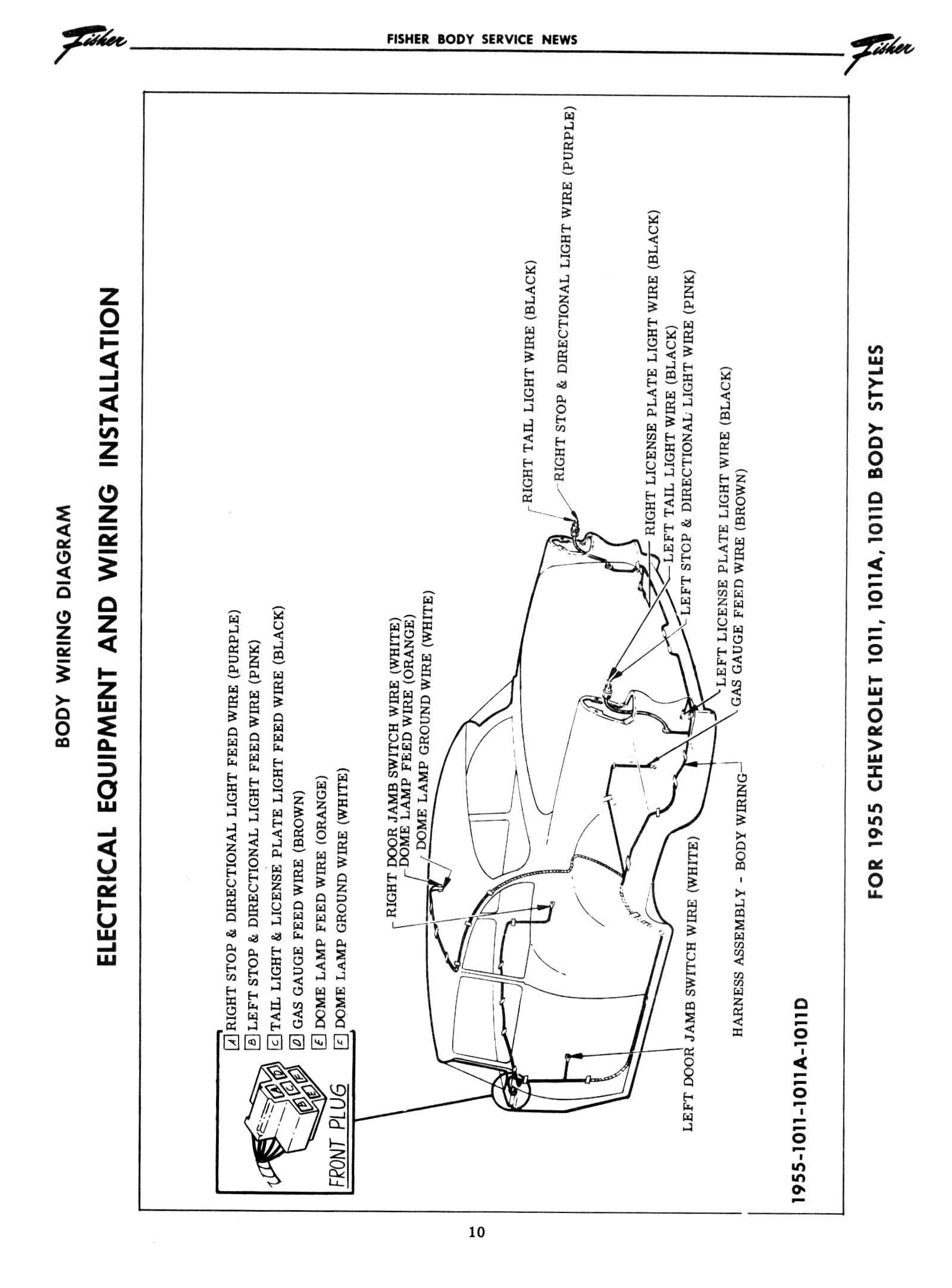 Wiring Diagram 55 Chevy C10