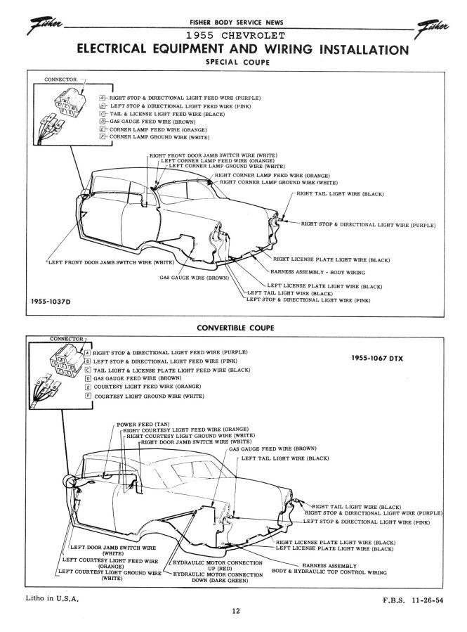 ignition switch wiring question [archive] – trifive, 1955, Wiring diagram