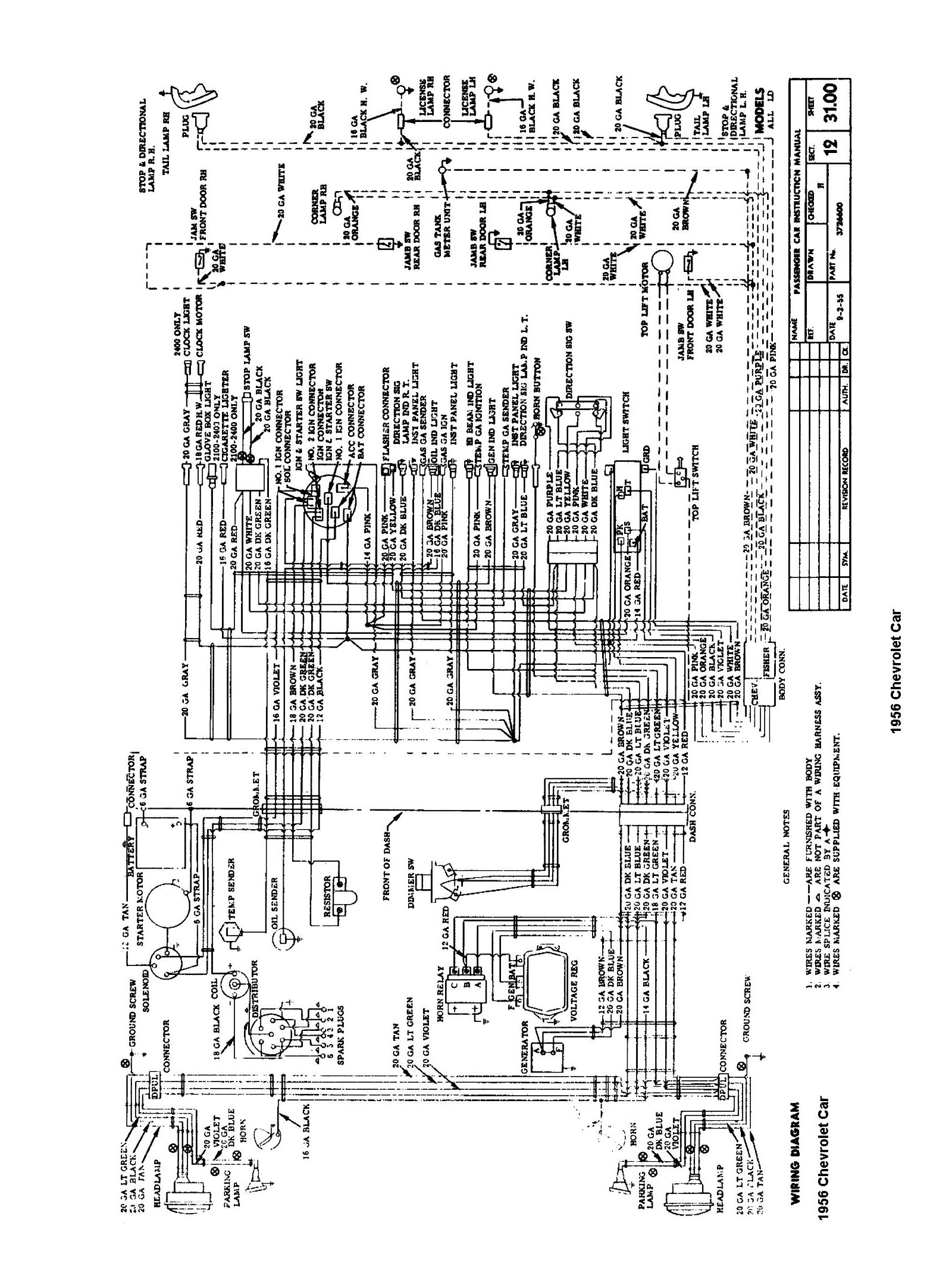 Chevy Pickup Wiring Diagram Wiring Diagram