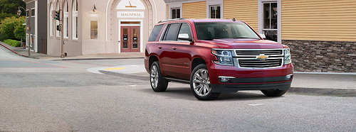 2015 Tahoe and Suburban