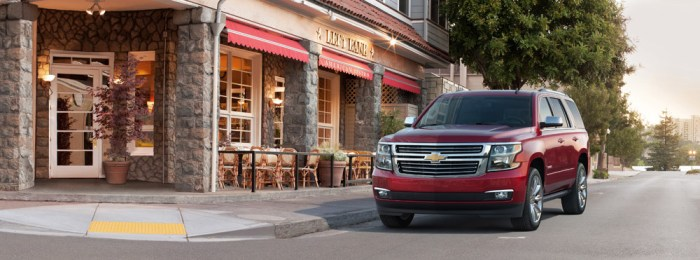 2015 Tahoe and Suburban Lead the Way!