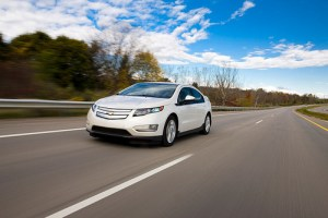 redesigned Chevrolet Volt