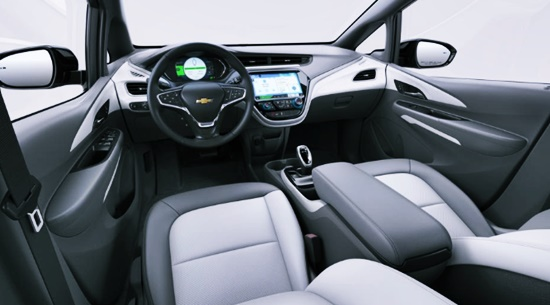 2021 Chevy Bolt EUV Interior