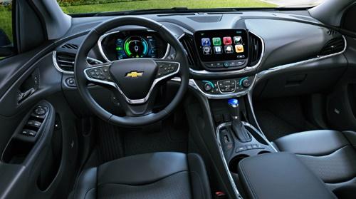 2021 Chevy Volt USA Interior