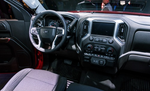 2020 Chevy Silverado Trail Boss Interior