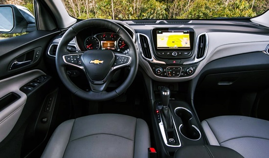 2021 Chevrolet Equinox Interior