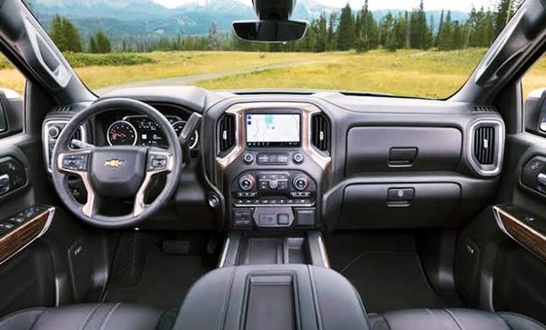 2022 Chevy Silverado ZRX Interior