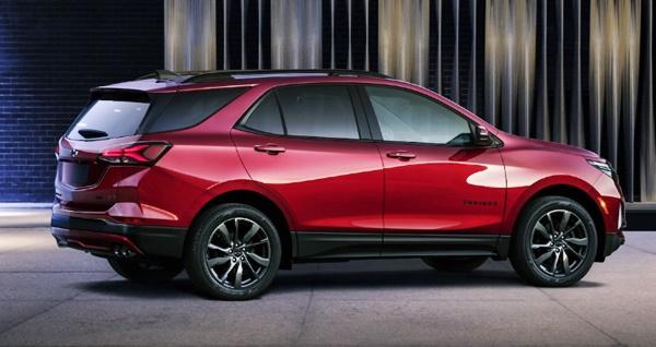 2022 Chevy Equinox Exterior