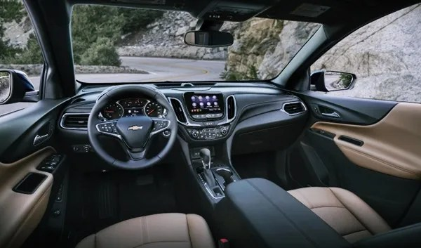 2022 Chevy Equinox Interior