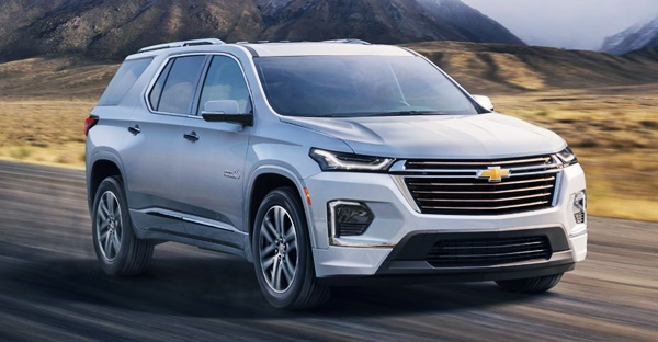 New 2022 Chevy Traverse USA Pricing, Release Date