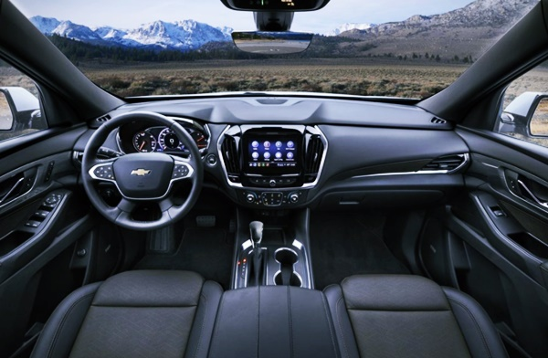 2022 Chevy Traverse High Country Interior