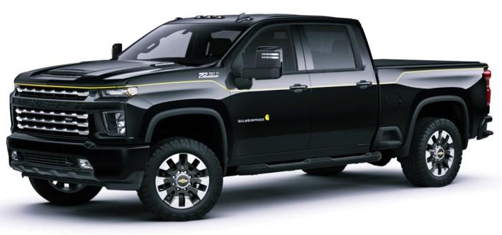 New 2022 Chevy Silverado Midnight Edition