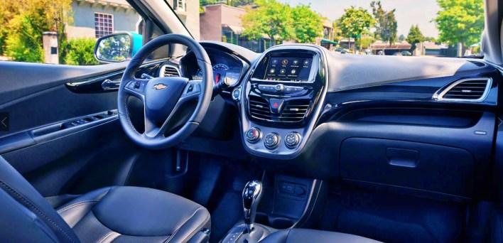 2022 Chevy Spark interior