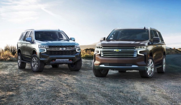 2022 Chevrolet suburban The most notable update is the SUV's first-ever