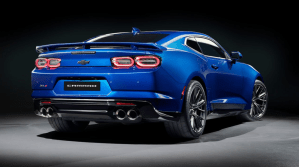 2022 Chevy Camaro 2SS Release Date