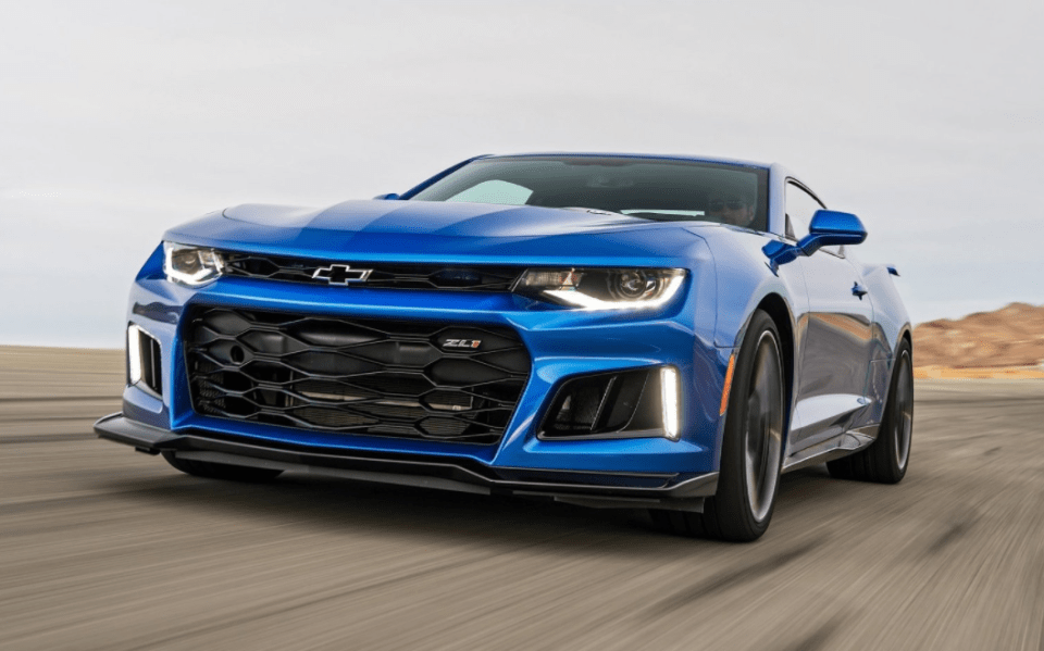 2022 Chevy Camaro SS Release Date