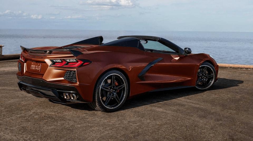 2022 Chevy Corvette C8 Release Date
