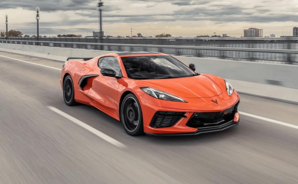 2022 Chevy Corvette Stingray Models