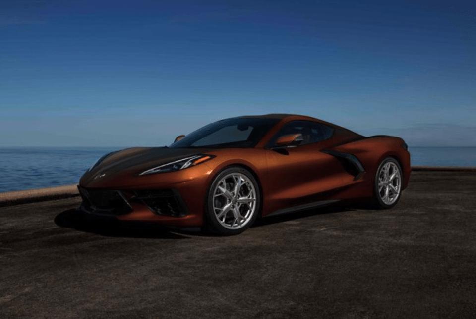 2022 Chevy Corvette Z06 Colors