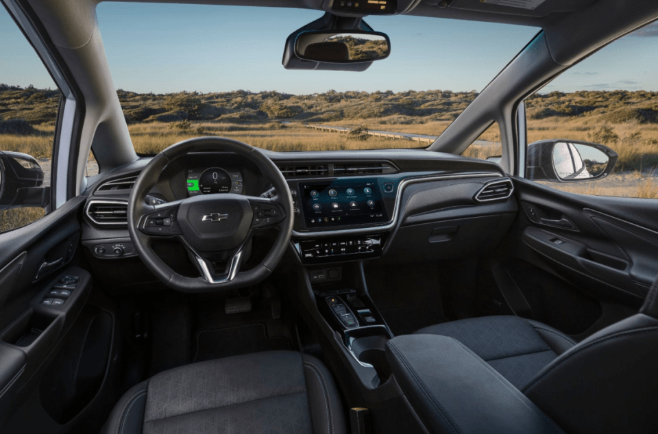 2022 Chevy Express Awd Interior