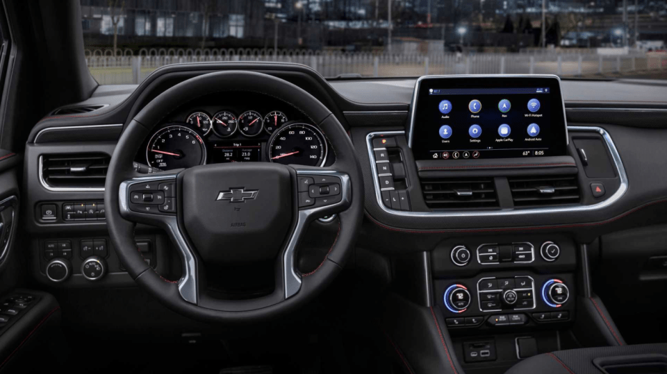 2022 Chevy 3500hd High Country Interior