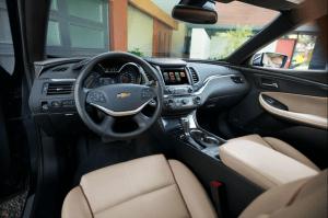 2022 Chevy Impala Revival Interior