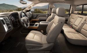 2022 Chevy Silverado 2500 High definition LT Interior