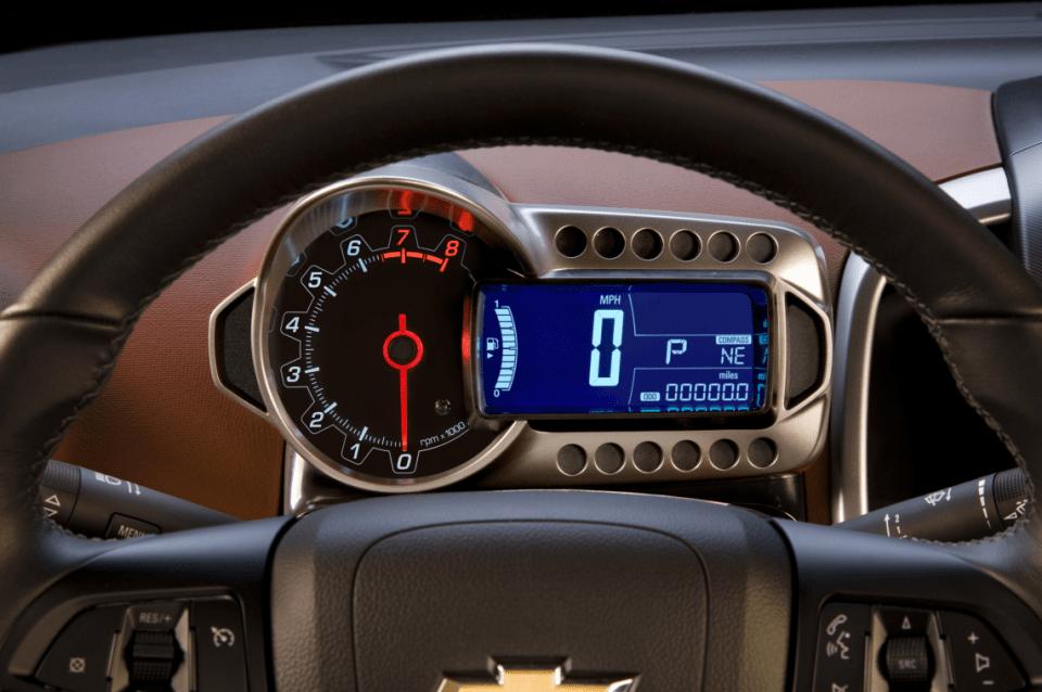 2022 Chevy Sonic Hatchback Interior