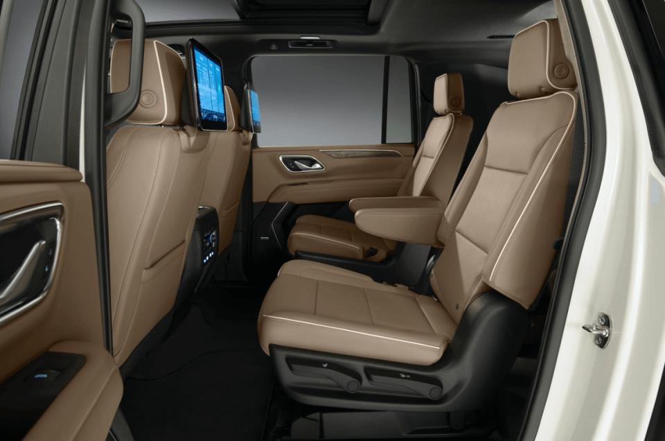 2022 Chevy Tahoe Z71 Interior