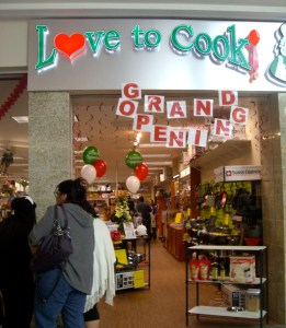 The Love To Cook store in Ogden opened in November 2013 and closed at the end of June 2014.