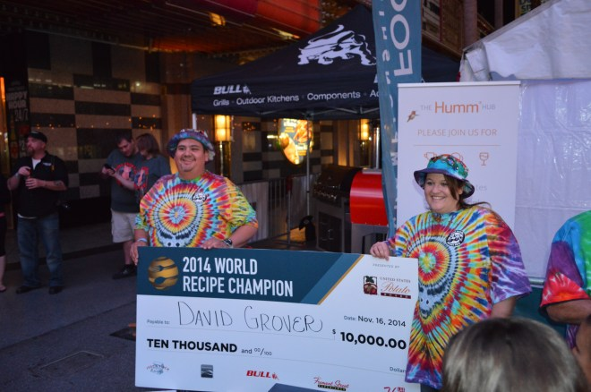 David Grover and Jamie Boyle win big at the World Food Championships.