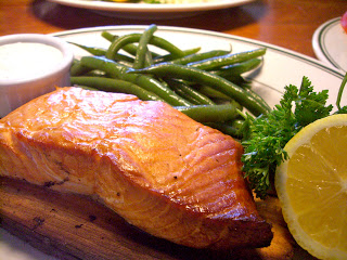 Fresh salmon was a signature item at Market Street Grill.