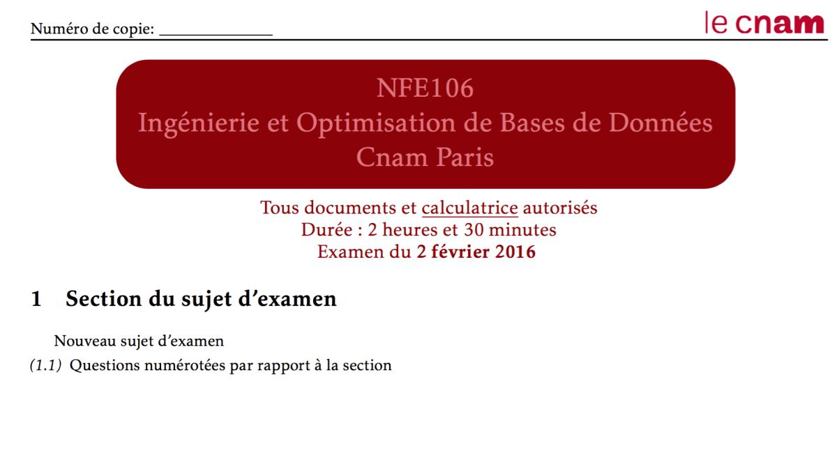 LaTeX : Mon template de sujet d'examen CNAM
