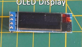128x64 I2C SH1106 OLED Display Module Screen for Arduino
