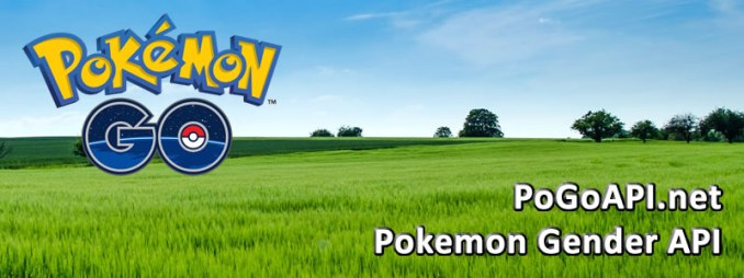 Pokemon Go API – Pokemon Gender API - The Chewett blog