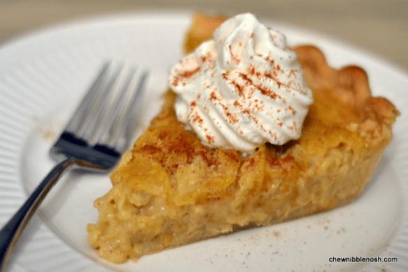 Marlborough Apple Pie - Chew Nibble Nosh