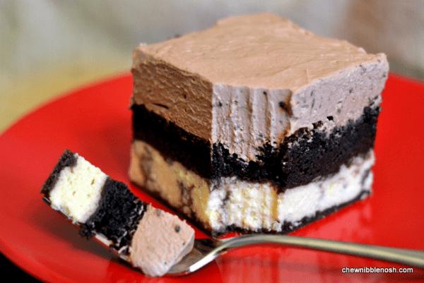 Chocolate Italian Love Cake - Chew Nibble Nosh